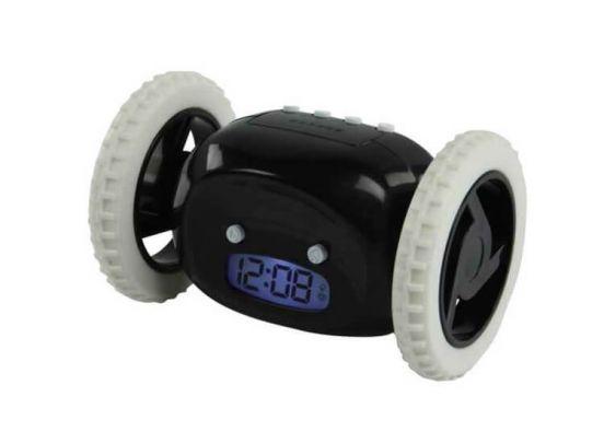 iBello rijdende wekker - zwart