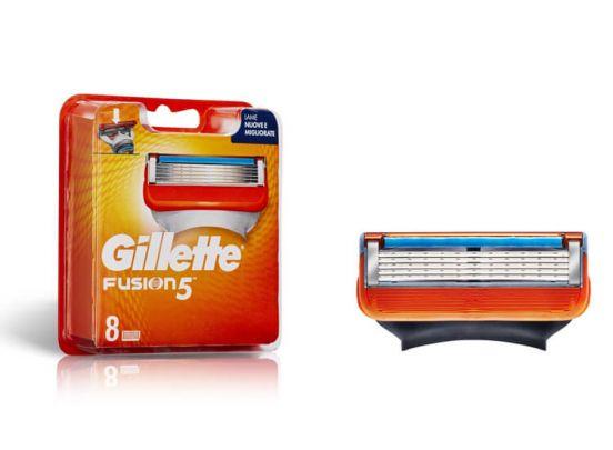 Gillette Scheermesjes - Fusion of Mach 3 - 8-pack