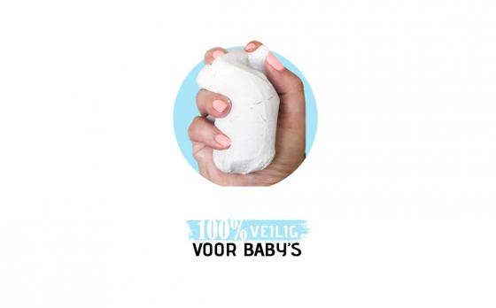 Baby Fotolijst - Klei Afdruk Hand/Voet - Kraamcadeau - 3D Collage - 54 extra letters