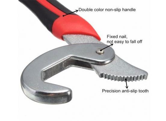 Multi Wrench Sleutelset - 2-delig - Rubberen handvat