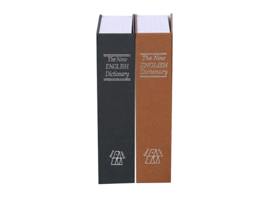 FEDEC Onopvallende Boekenkluis - Zwart of Coffee