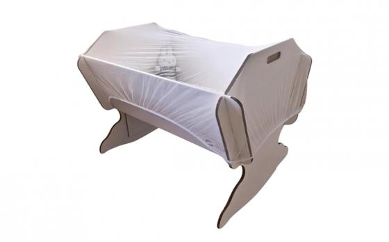 Muggennet - Geschikt voor babybox & Wieg - 145 x 74 x 82.5 cm
