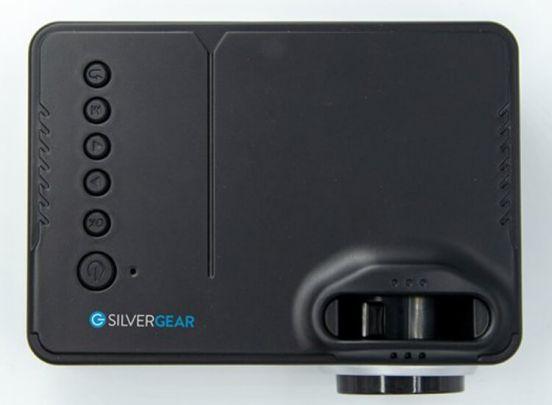 Silvergear Mini LCD Projector - Mini Beamer