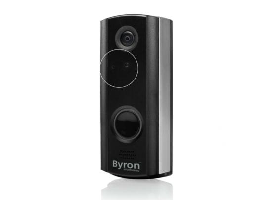 Byron Draadloze Video Deurbel - 720p HD - Wi-Fi
