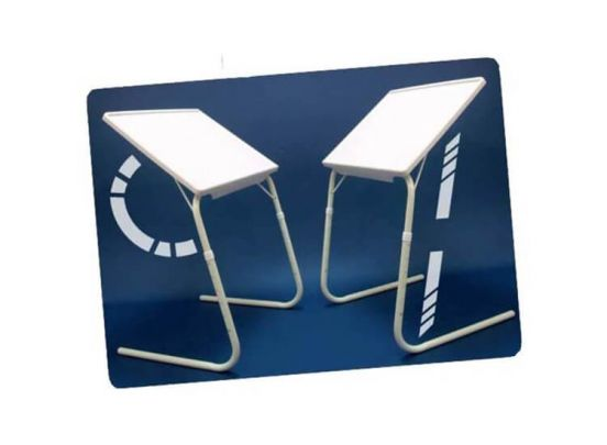 Soundlogic Verstelbare Inklaptafel - Multifunctioneel - Wit