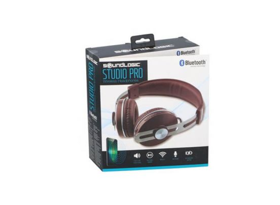 Soundlogic Studio Pro Koptelefoon - Stereo Geluid - Draadloos - Ingebouwde Microfoon