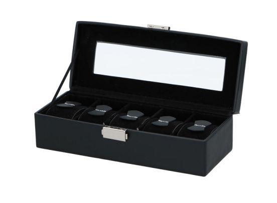 Luxe Horlogebox Voor 5 Horloges - Horlogedoos