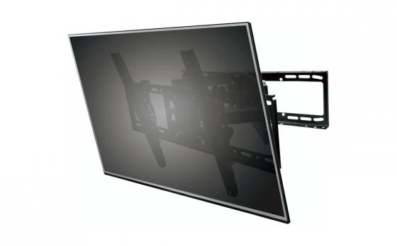 Gembird WM-70T-01 muurbeugel - Kantelbaar - Tot 50 kg