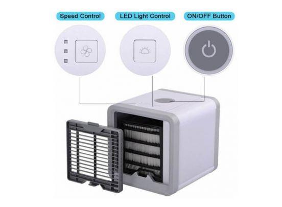 Bellson aircooler en bevochtiger - inclusief LED verlichting