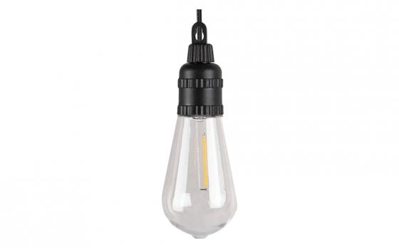 Hofftech Solar LED Lichtsnoer – 10 LED lampen – 7.5 meter – 800mAh