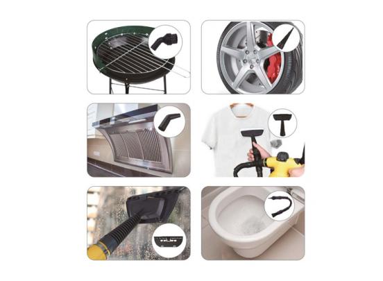 Hofftech Multifunctionele Handstoomreiniger - Met 9 accessoires
