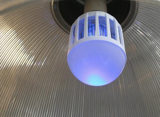 Benson Anti muggenlamp - E27 Fitting - 9 Watt
