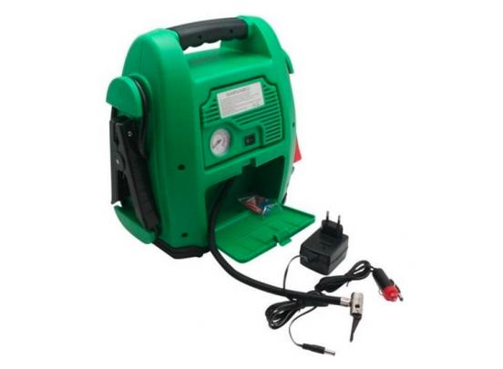 Hofftech Jumpstarter met 17Ah Compressor