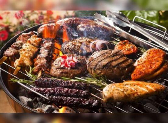 Compacte Houtskoolbarbecue - Met verstelbare grill - Perfect om mee te nemen!