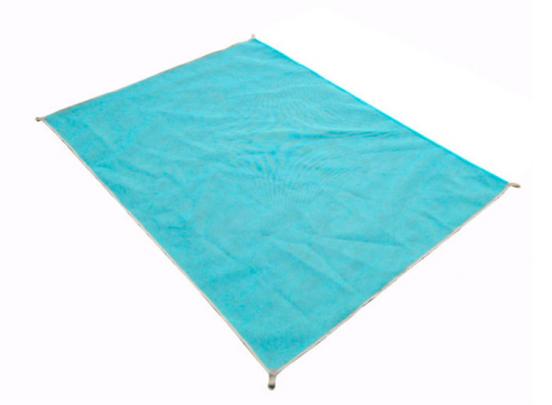 Zandvrij Strandlaken - Blauw - 200x200cm