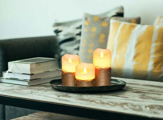 3 LED Kaarsen - Sfeervol en Veilig