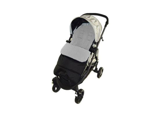 Fedec Comfortbag Voetenzak - Babywagen - wandelwagen - Buggy - Grijs