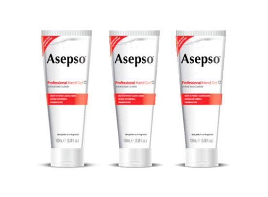 3 pack Asepso handgel