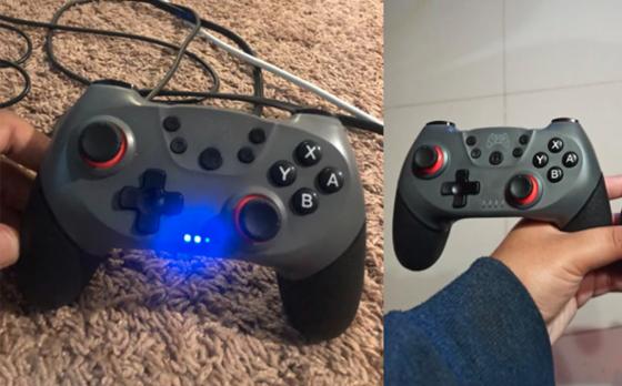 Gamecontroller - Grijs