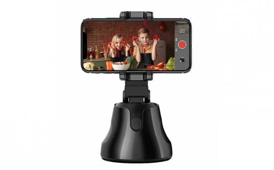 FEDEC Telefoonstatief - Telefoonhouder - Tracking functie - Vloggen - Zwart