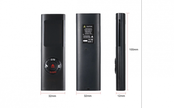 Mini Laserafstandsmeter - Tot 40 meter nauwkeurig