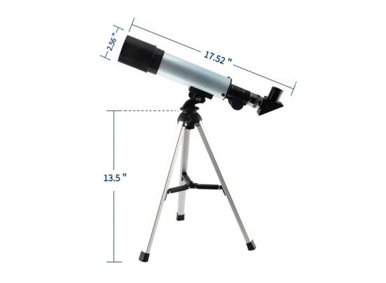 Fedec Outdoor Telescoop - 3 lenzenstanden - Zwart