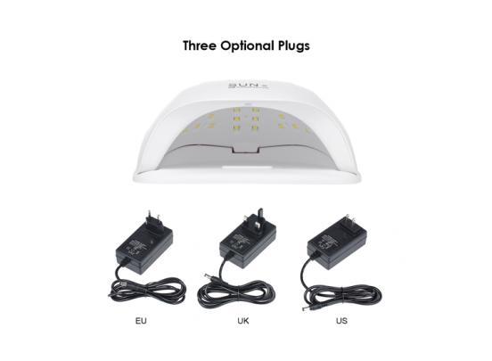 Fedec LED Nageldroger voor Gelnagels - 24 LEDs - Wit