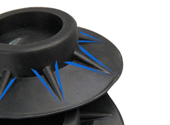 Trillingsdempers Voetjes Wasmachine & Droger - Anti Trillings / Vibratie Dempers Pads - Antislip Rubber - Extra Dik - Set Van 4 Stuks
