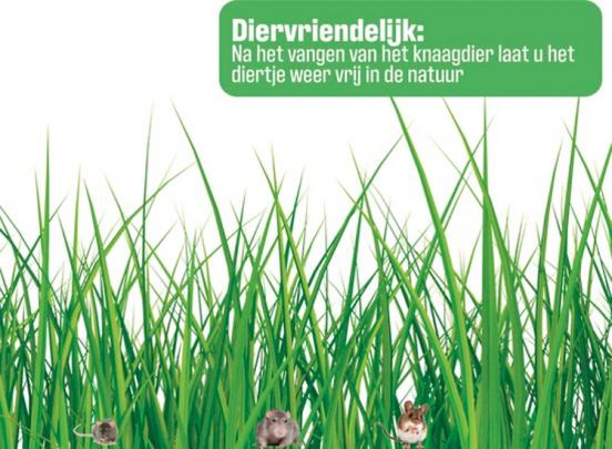 Diervriendelijke Muizenval - Voor Binnen En Buiten