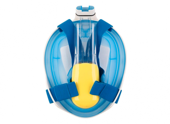 Nova Volgelaats Duikmasker - Blauw - S/M