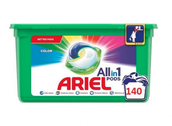 Ariel All-in-1 Pods - Color 140 pods