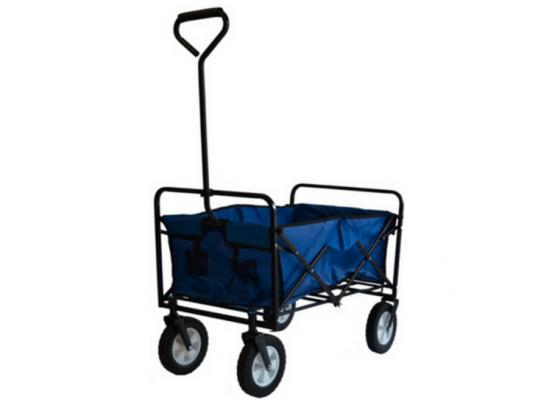 Benson Opvouwbare Bolderwagen / bolderkar - Blauw