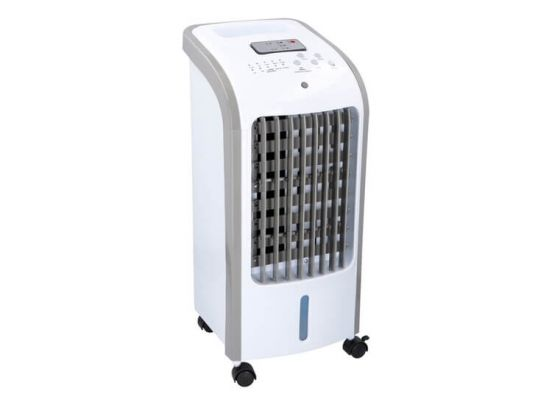 Mobiele aircooler en luchtbevochtiger 2-in-1 - Werkt als ventilator en luchtbevochtiger