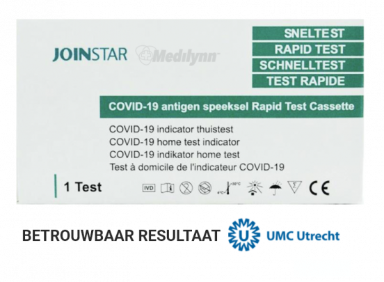 Corona Sneltest - COVID-19 speeksel sneltest