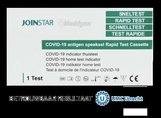 Corona Sneltest - COVID-19 speeksel sneltest - 10 stuks