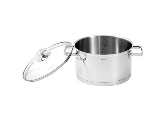 Cuisinox RVS kookpan - 24 cm - Geschikt voor alle warmtebronnen