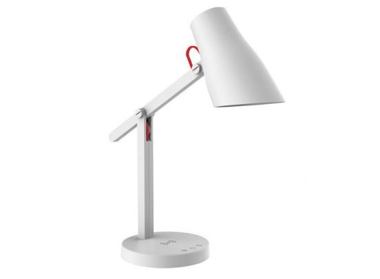 Dreamled Design Bureaulamp - Draadloze Oplader Voor Smartphone - 3 Lichtstanden - Wit
