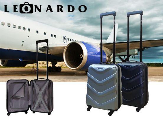 Leonardo Darwin Handbagagekoffer