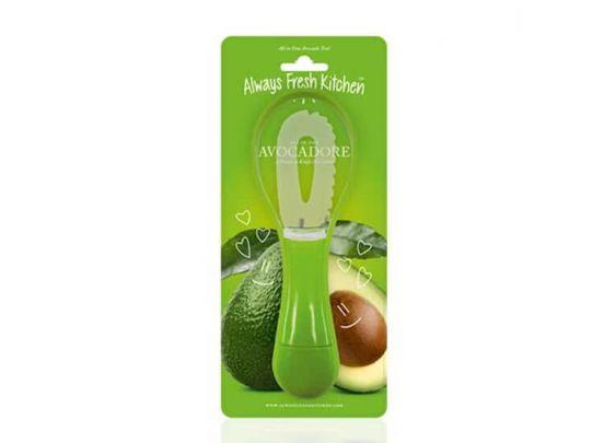 All in One Avocado Mes - Speciale 3-in-1 dunschiller voor avocado's