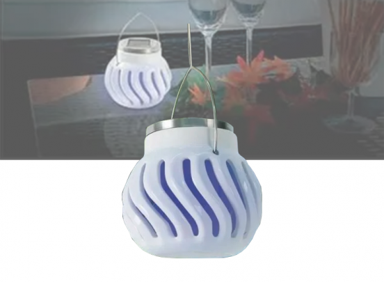 Anti-Insectenlamp - Zonne-energie - Wit