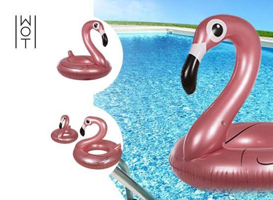 Wagon Trend Summer opblaasbare flamingo