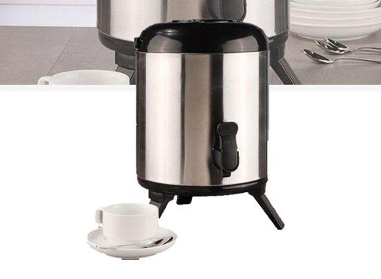 Thermo airpot - sapkraan - 8 liter