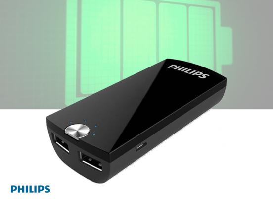 Philips USB-Powerbank - 4000mAh