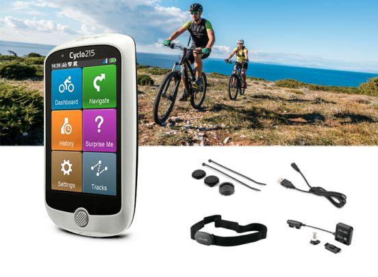 Mio Cyclo 215HC fietsnavigatie