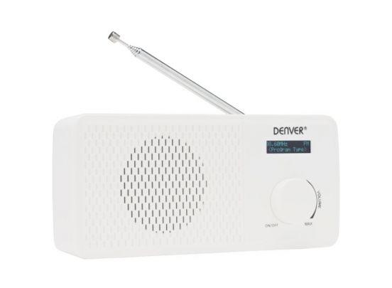 Denver DAB-41 draagbare radio - wit