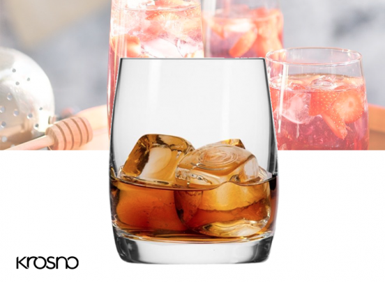 Krosno Blended Collection Whiskyglazen - Set van 6 - 250ml