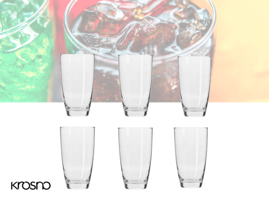 Krosno Mixology Longdrinkglazen - Set van 6 - 500ml