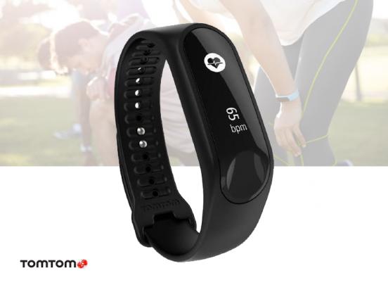 TomTom Touch Cardio HR - Activity tracker - Zwart - Large