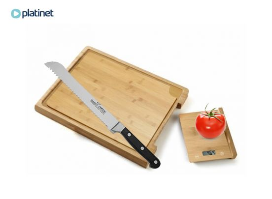 PLATINET CUTTING BOARD WITH KITCHEN SCALE [44670]