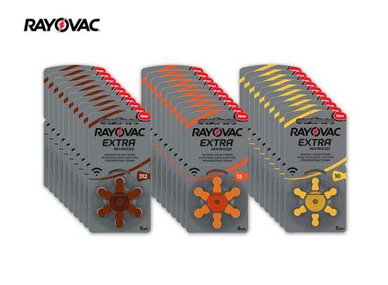 Rayovac Gehoorapparaatbatterijen - 60 stuks